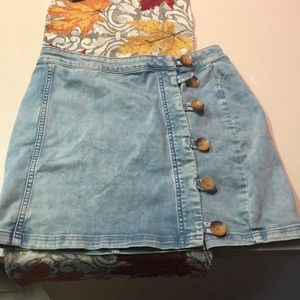 Like New Free People Skirt sz 10